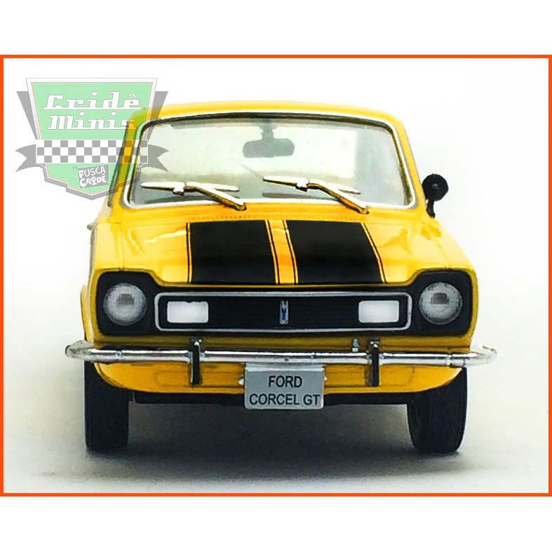 Ford Corcel GT 1971 - Carros Nacionais - escala 1/43