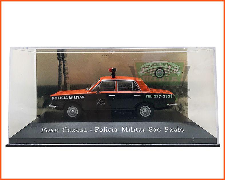 Ford Corcel PMSP - Carros Nacionais escala 1/43