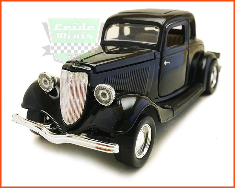 Ford Coupe 1934 - escala 1/24