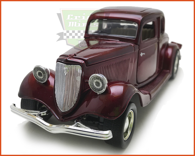 Ford Coupe 1934 Vine - escala 1/24