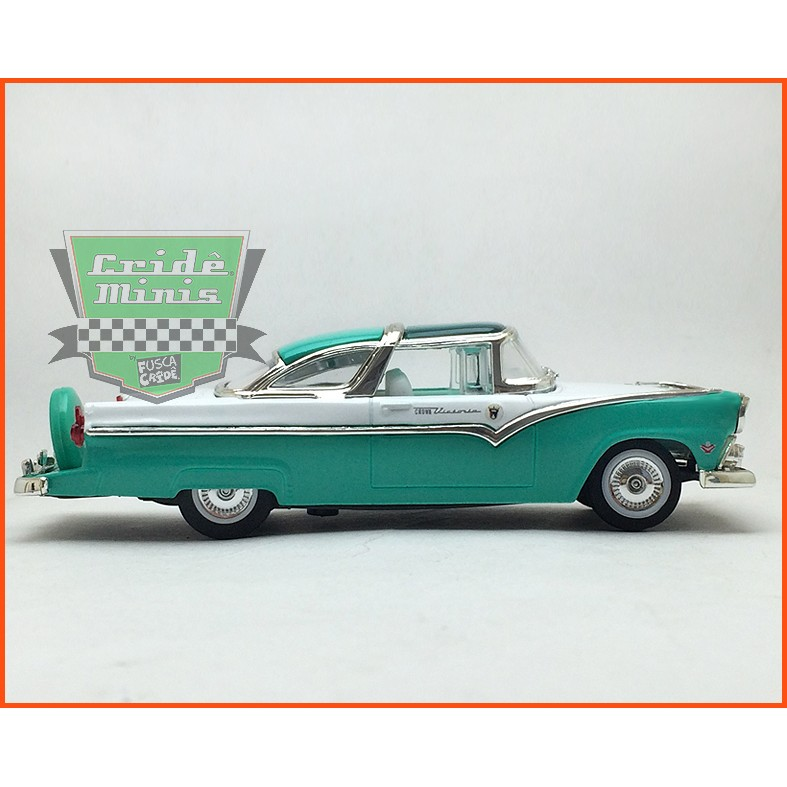 Ford Crown Victoria 1955 - Caixa de acrílico - escala 1/43