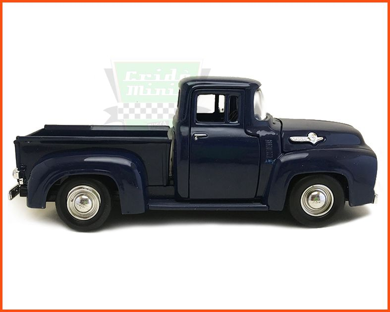 Ford F-100 1955/56 Azul - escala 1/24
