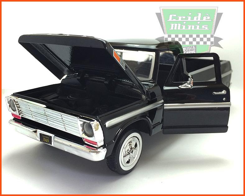 Ford F-100 1969 - escala 1/24