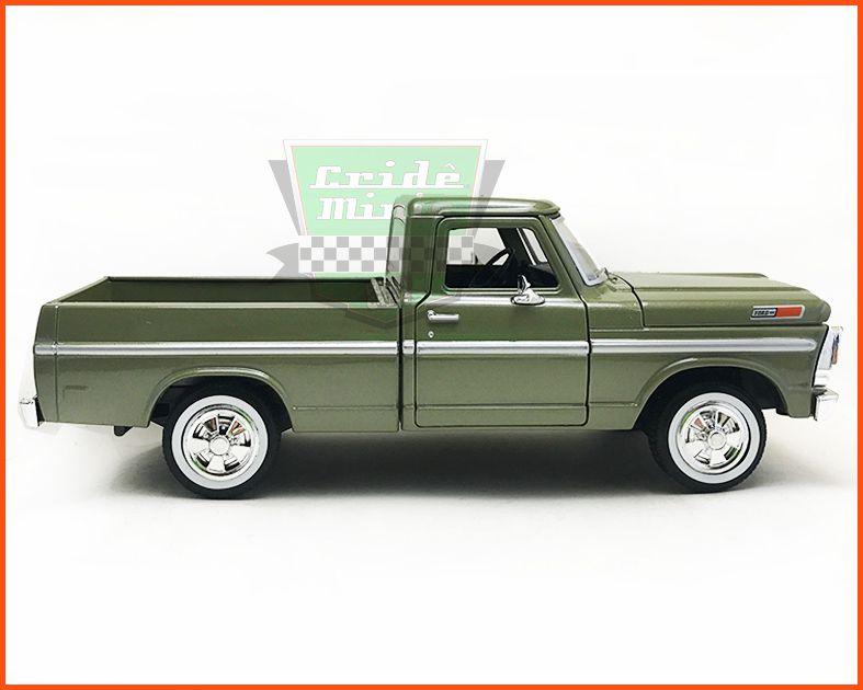 Ford F-100 1969 Green - escala 1/24