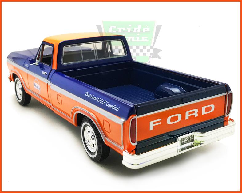 Ford F-150 1979 Equipe Gulf - escala 1/24