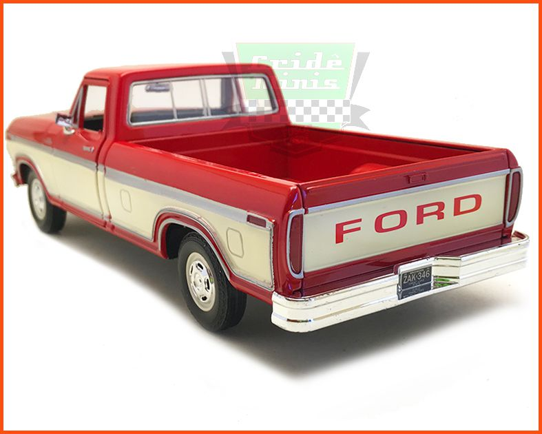Ford F-150 1979 Red - escala 1/24