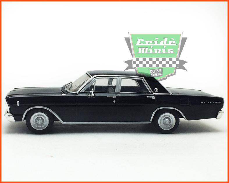 Ford Galaxie 500 1967 - Carros Nacionais - escala 1/43