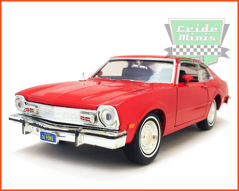 Ford Maverick 1974 Vermelho - escala 1/24