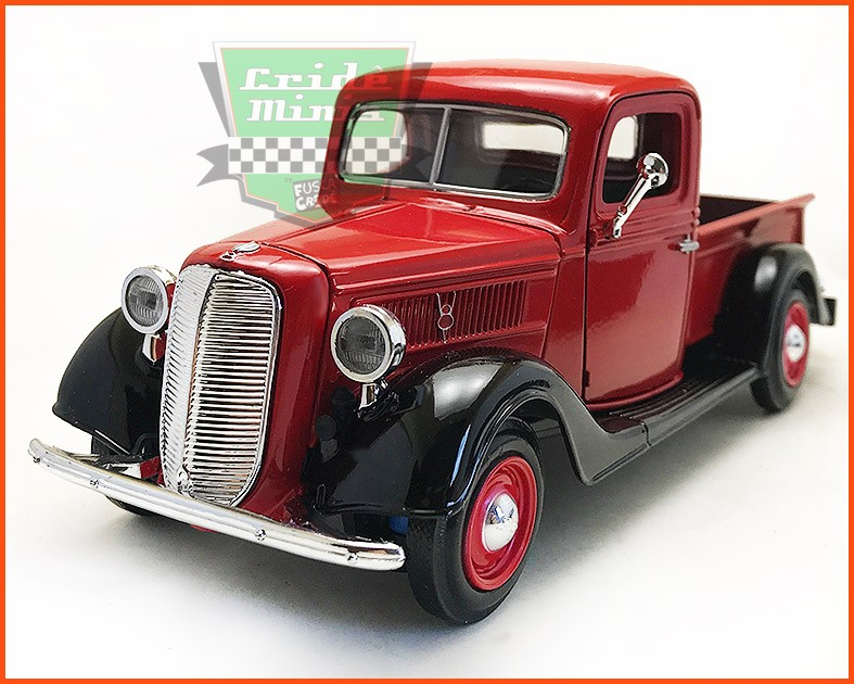 Ford Pick-up 1937 c/ Caixa Expositora - escala 1/24