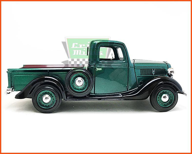 Ford Pick-up 1937 verde - escala 1/24