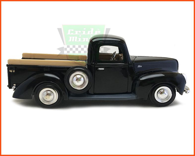 Ford Pick-up 1940 Black - escala 1/24