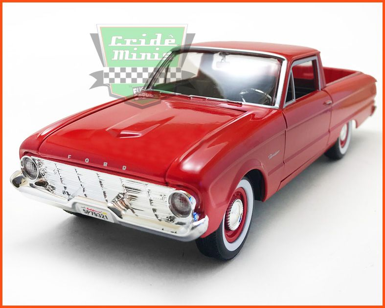 Ford Ranchero 1960 Red - escala 1/24