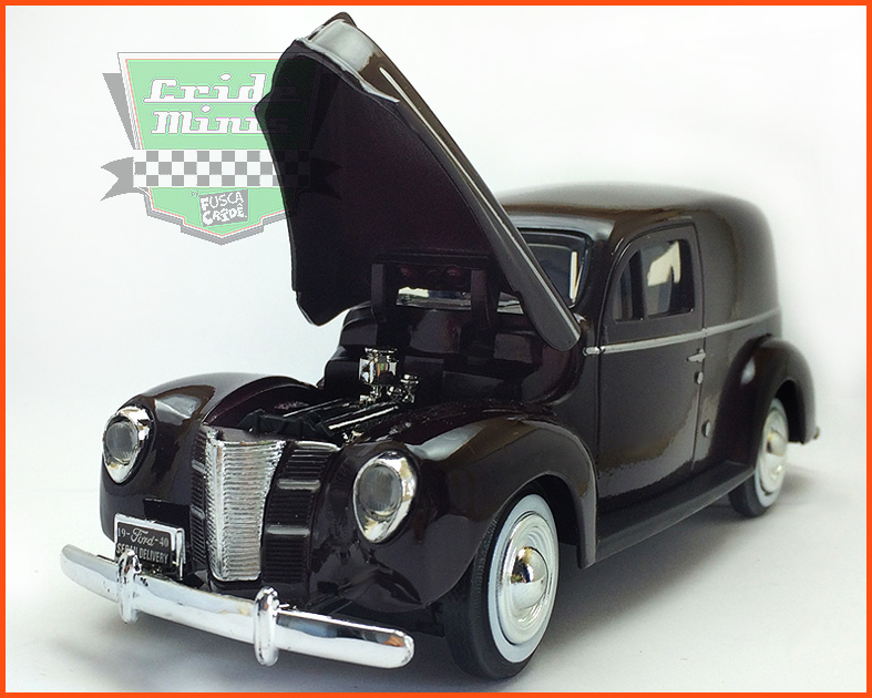 Ford Sedan Delivery 1940 - escala 1/24