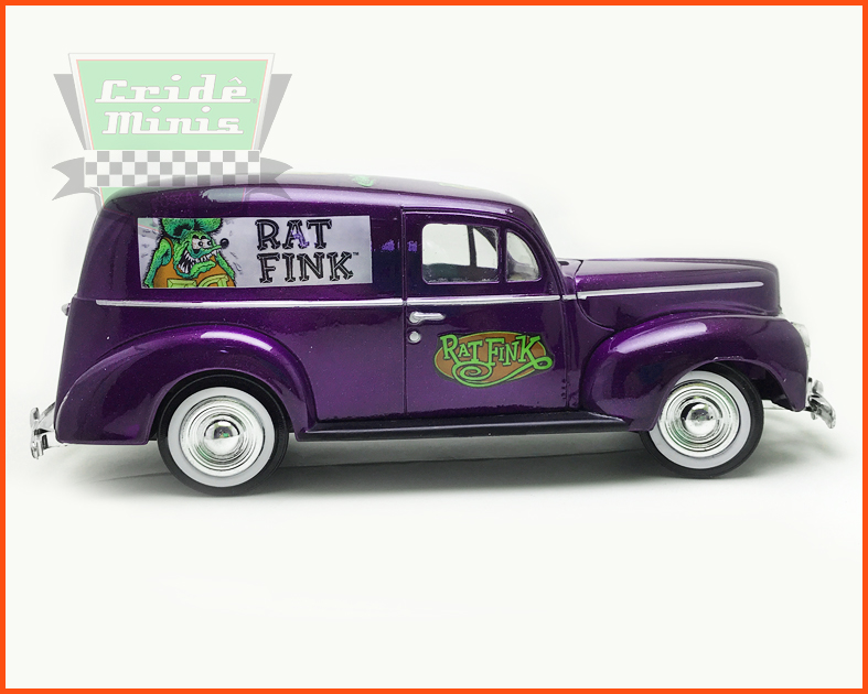 Ford Sedan Delivery 1940 Rat Fink Customizado - escala 1/24