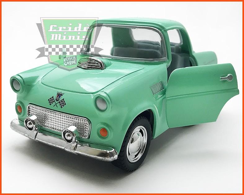 Ford Thunderbird 1955 FUN Verde (10 cm comprimento)