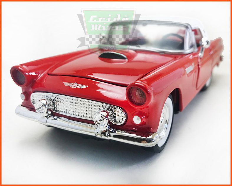 Ford Thunderbird 1956 - escala 1/24