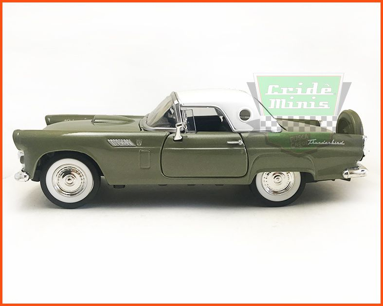 Ford Thunderbird 1956 Verde - escala 1/24