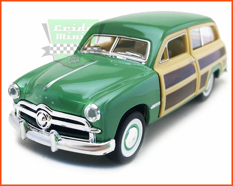 Ford Wood Wagon 1940 com Caixa Customizada - escala 1/40