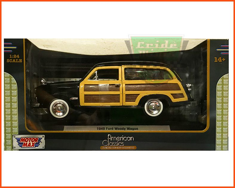 Ford Wood Wagon 1949 c/ Caixa Expositora - Escala 1/24