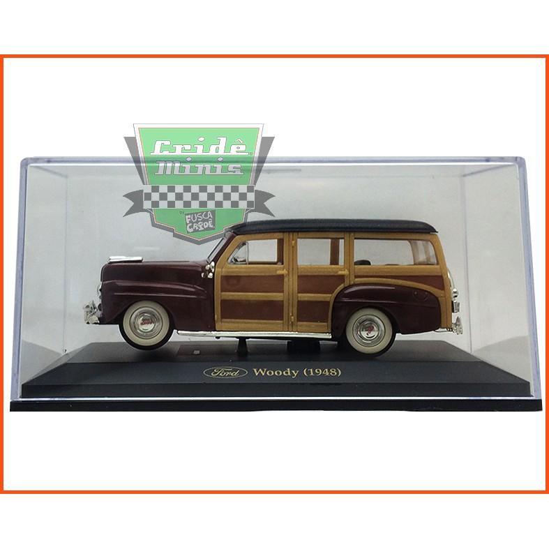 Ford Woody 1948 - Caixa de acrílico - escala 1/43
