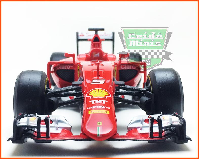 Fórmula 1 Ferrari SF15-T #5 - escala 1/24