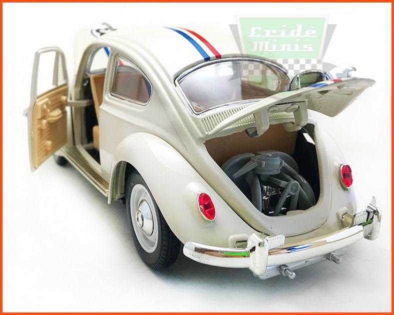 Fusca Herbie  - Escala 1/18