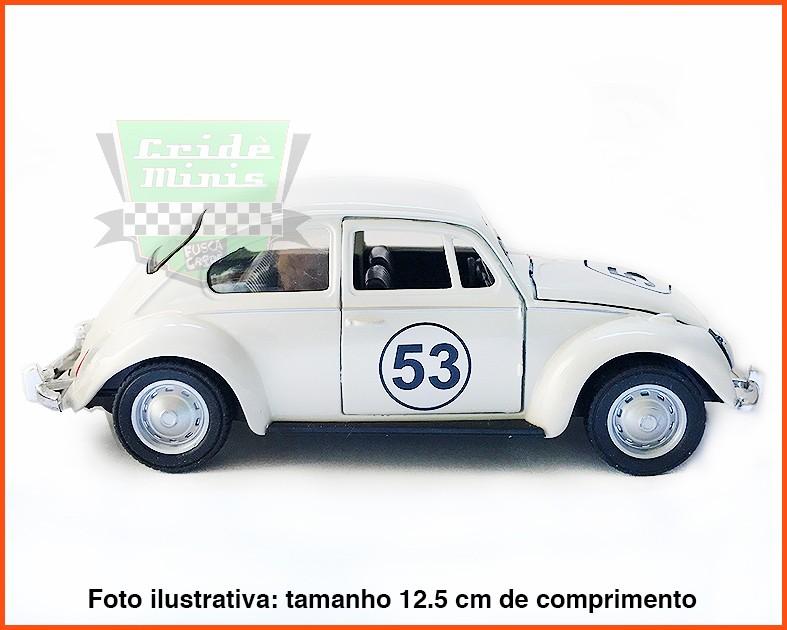 Fusca Herbie - escala 1/32