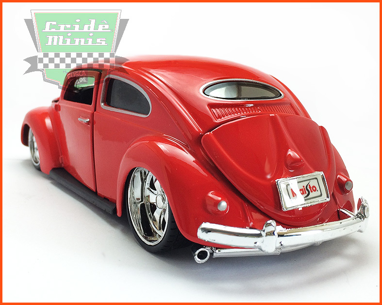 Fusca Oval Window Custom 1955 - escala 1/24