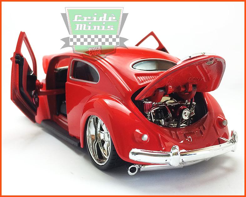 Fusca Oval Window Custom 1955 - escala 1/24