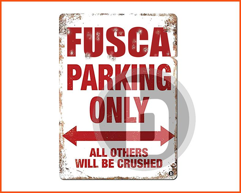 Fusca Parking Only - Masculino
