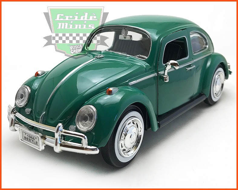 Fusca Sedan 1966 1300 - escala 1/24