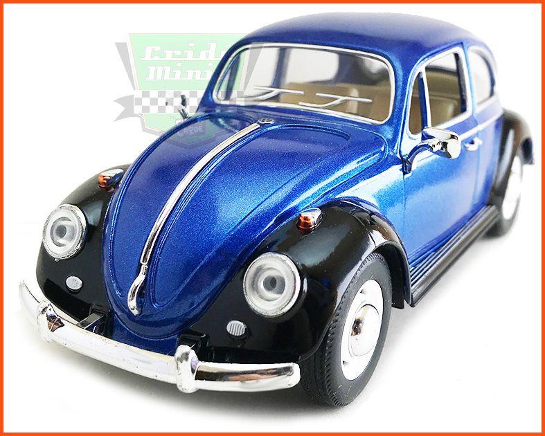 Fusca Sedan 1967 1300 Azul - escala 1/24