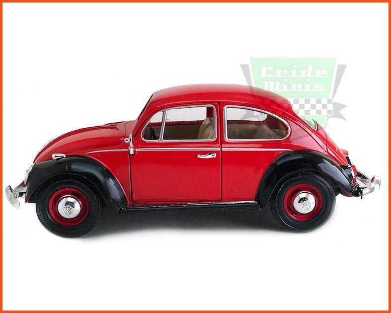 Fusca Sedan 1967 1300 duas cores - escala 1/24