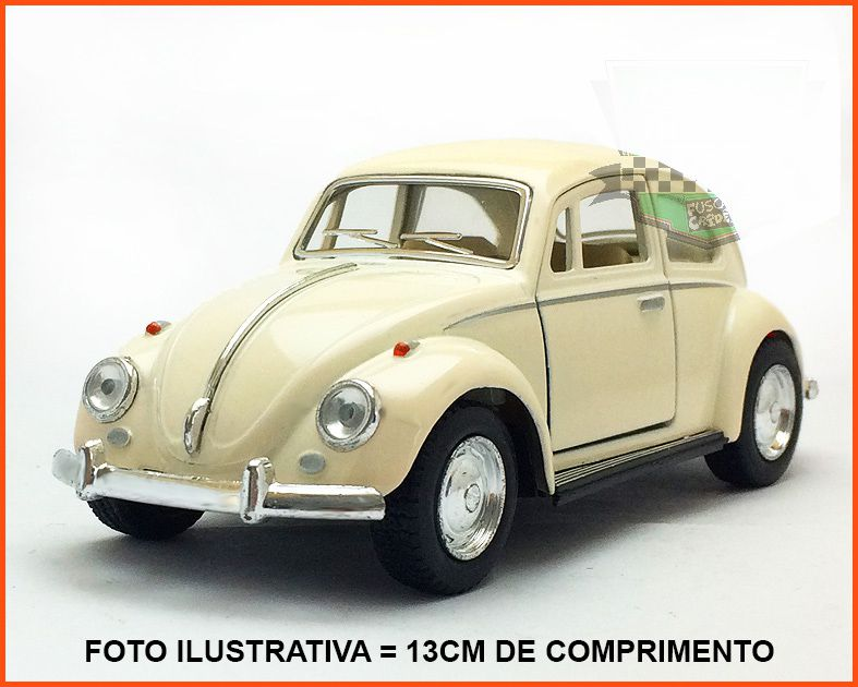 Fusca Sedan 1967 - Creme - escala 1/32