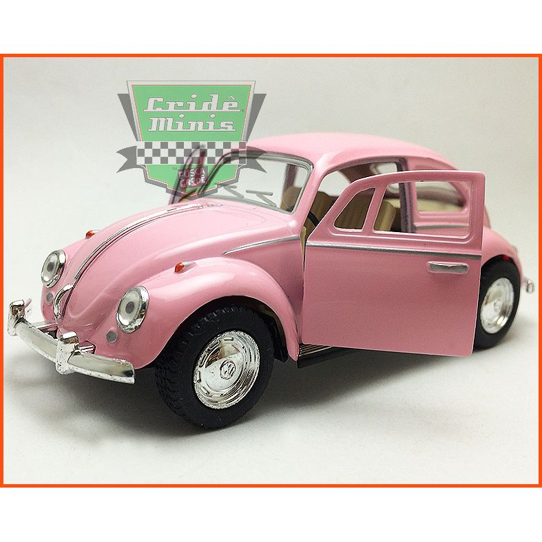 Fusca Sedan 1967 - Rosa - escala 1/32
