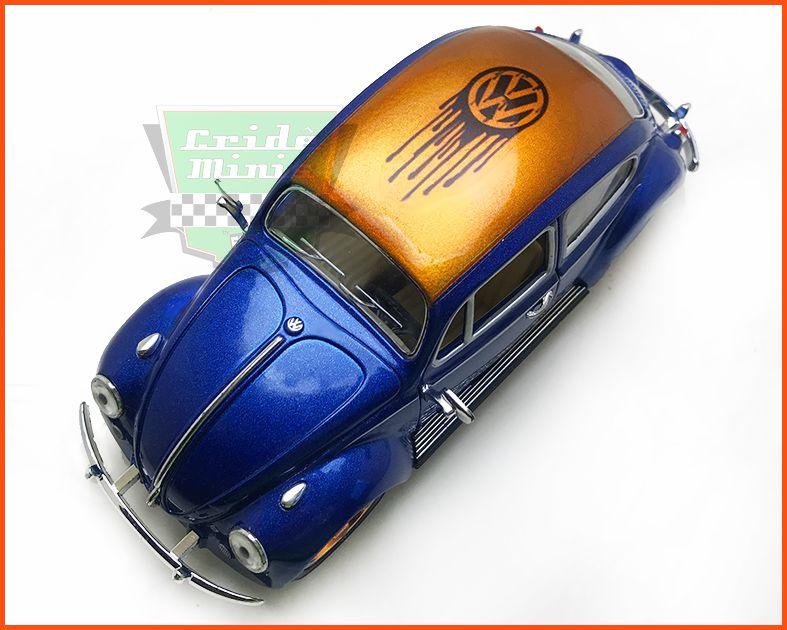 Fusca Sedan 1967 VW Pintura Especial Peça Única - escala 1/24