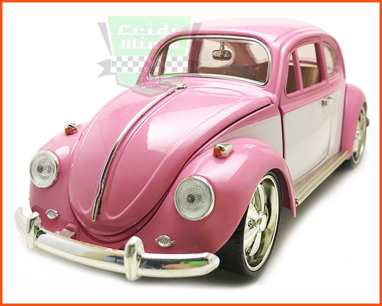 Fusca Sedan 1969 Tunado Pink - Escala 1/18
