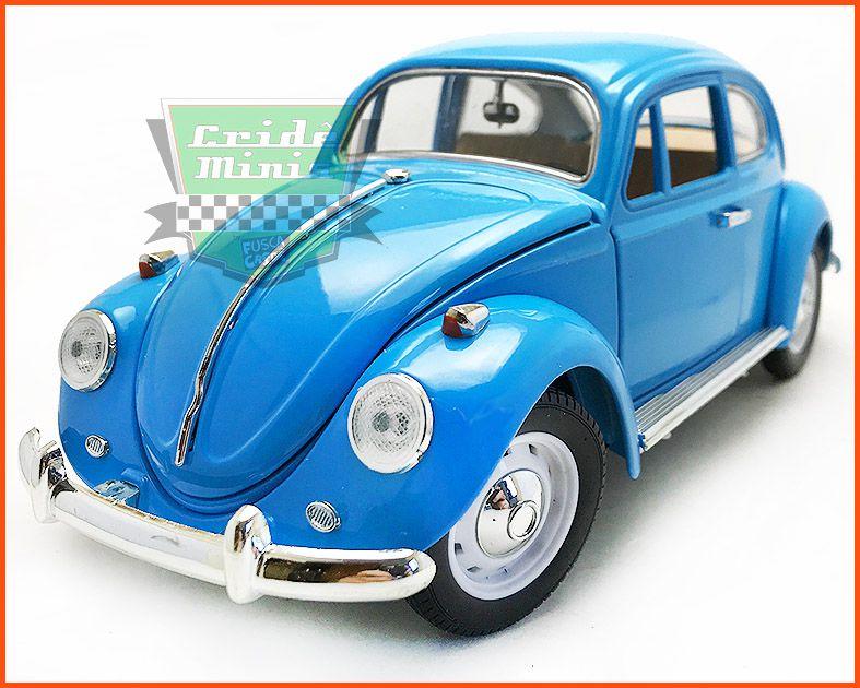 Fusca Sedan Azul - Escala 1/18