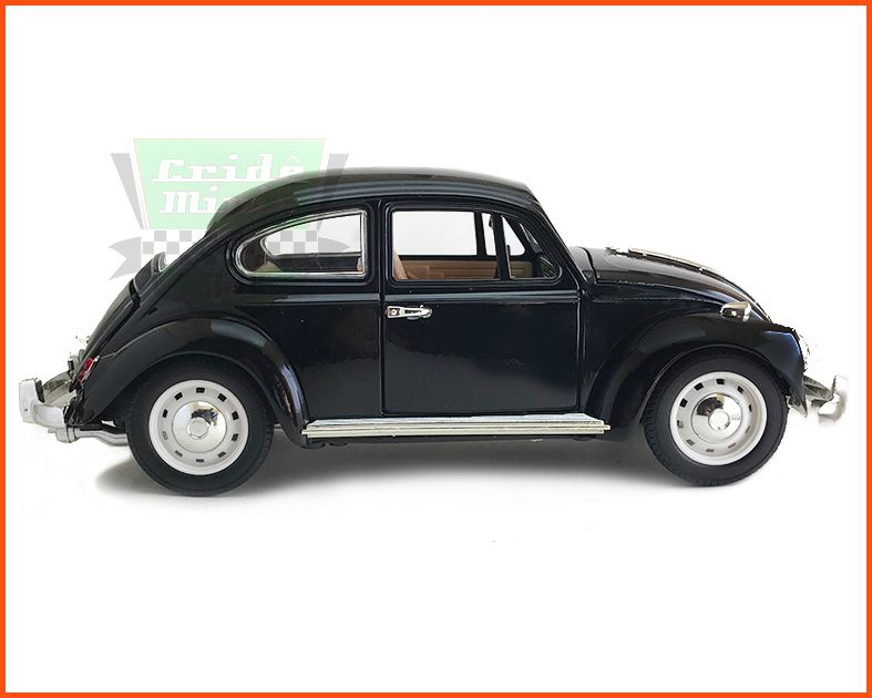 Fusca Sedan Preto - Escala 1/18
