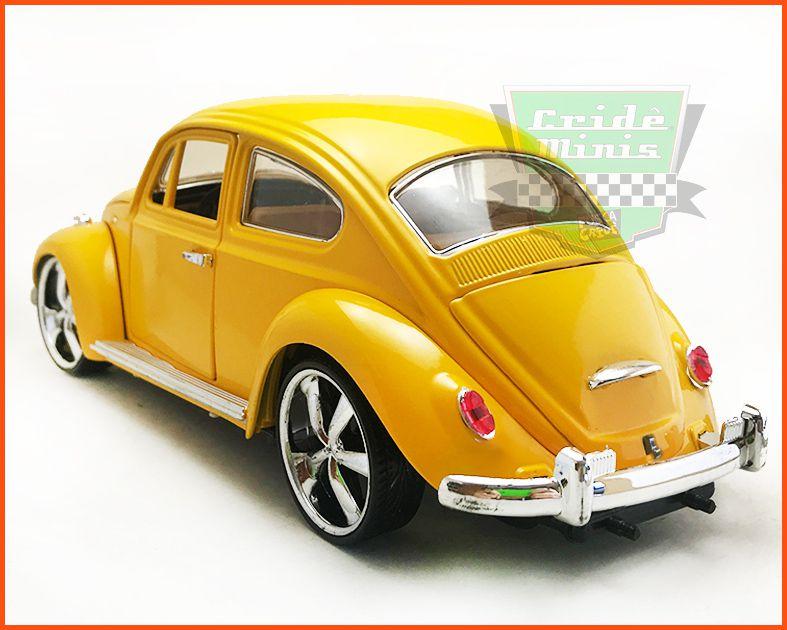 Fusca Sedan Rodas Esportivas - Escala 1/18