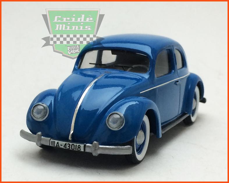 Fusca Sedan Split Window 1950 - 8 dias de produção Escala 1/43