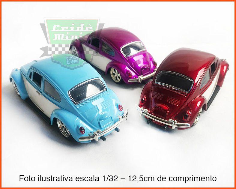 Fusca Sedan Tunados 3 peças - Escala 1/32