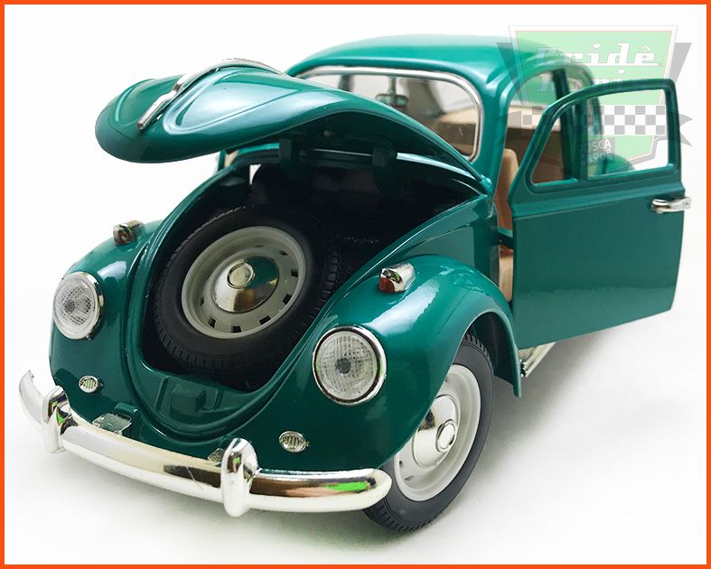 Fusca Sedan Verde - Escala 1/18