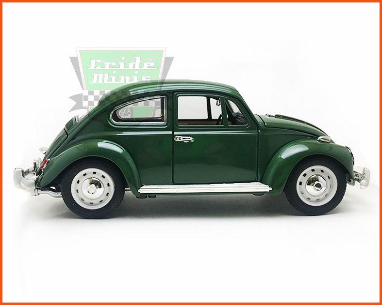Fusca Sedan Verde Folha - Escala 1/18