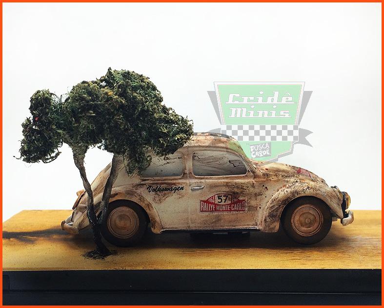 Fusca Split Rallye Monte Carlo 1950 10 dias de produção - escala 1/43