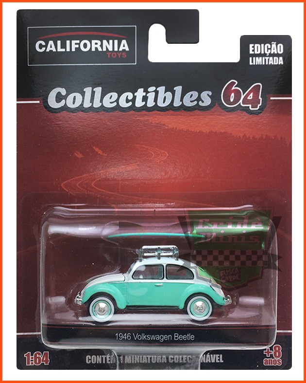 Fusca Split Surfista 1946 - escala 1/64