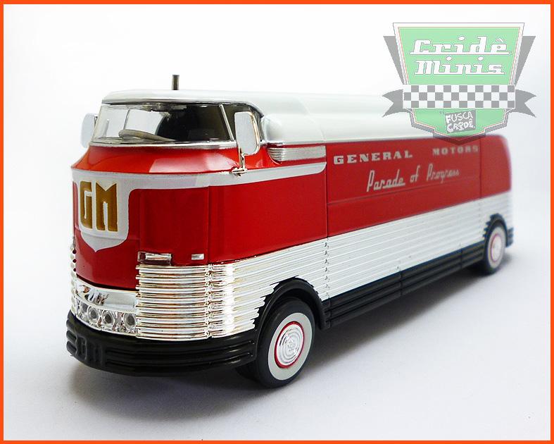 General Motors Futurliner 1940 - Parade of Progress - escala 1/64