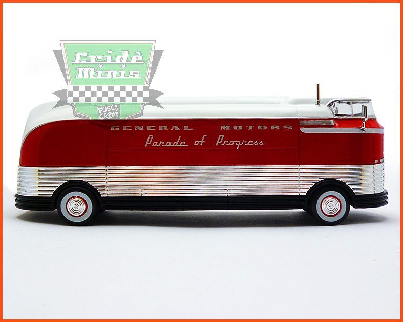 General Motors Futurliner 1940 - Parade of Progress - escala 1/64