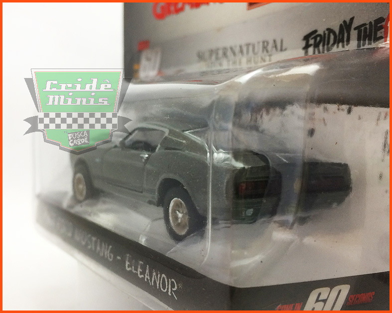 Greenlght Ford Mustang 67 ELEANOR - escala 1/64