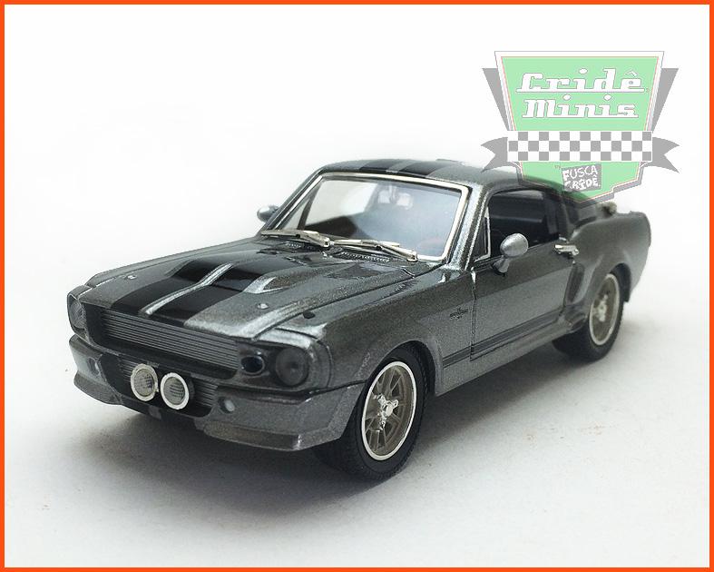 Greenlight Mustang Custom ELEANOR 1967 - Caixa de acrílico - escala 1/43